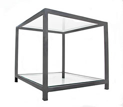 gun-metal-grey-metal-frame-side-table